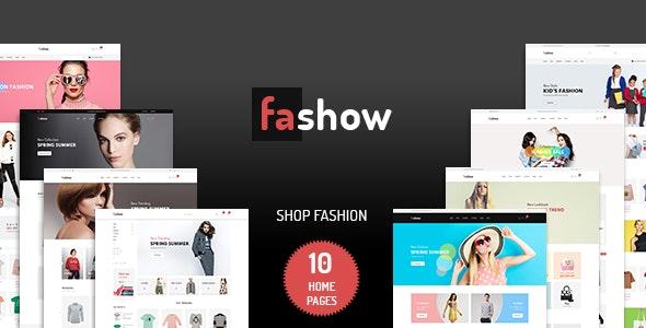 Fashow - Minimalist eCommerce PSD Template - Photoshop UI Templates