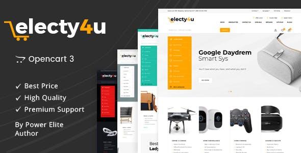 Electy4u - Multipurpose OpenCart 3 Theme