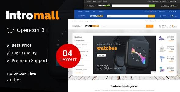 Intromall - Multipurpose OpenCart 3 Theme - Technology OpenCart