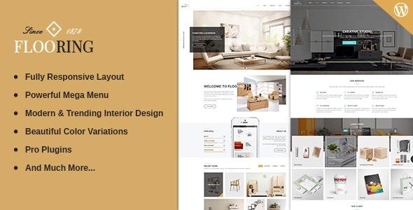 Flooring - Responsive & Multipurpose WordPress Theme - Corporate WordPress