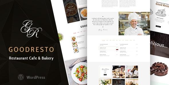 GoodResto - Restaurant WordPress Theme + Woocommerce - Restaurants & Cafes Entertainment
