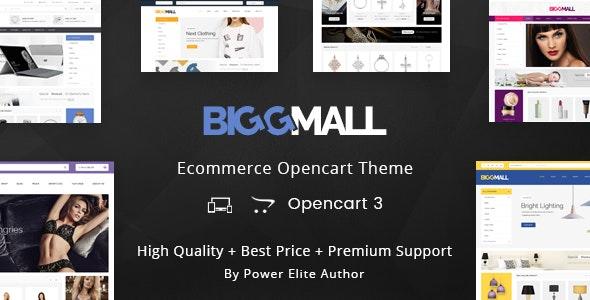 BiggMall - Multipurpose OpenCart 3 Theme - Shopping OpenCart