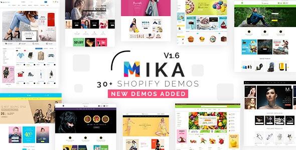 Mika - Multipurpose eCommerce Shopify Theme - Technology Shopify