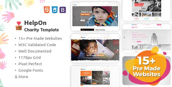 HelpOn - Charity HTML Template - Charity Nonprofit