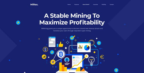 Mining Website Templates from ThemeForest