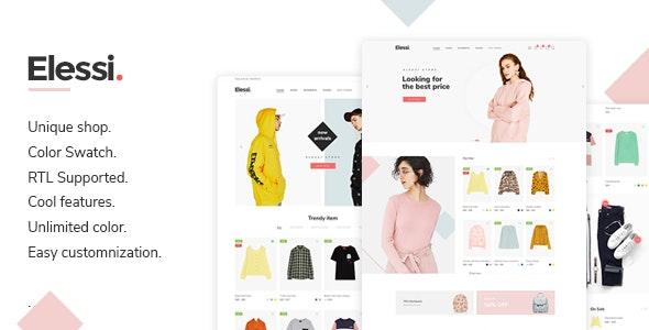 Elessi - Fashion Responsive Magento 2 Theme ( RTL supported ) - Magento eCommerce