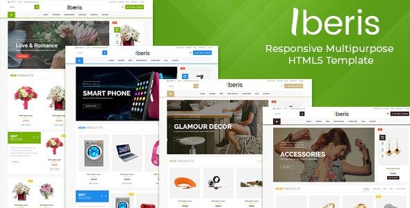 Iberis - Responsive Multipurpose HTML5 Template - Retail Site Templates