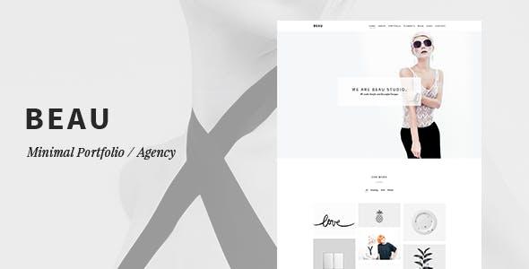 Beau - Portfolio Minimal / Cơ quan WordPress Theme