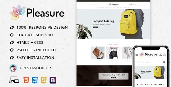 Pleasure Bag Store - Prestashop 1.7 Theme - PrestaShop eCommerce