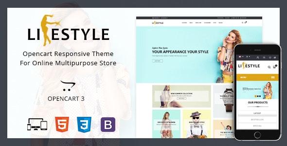 LifeStyle - Multipurpose Opencart Theme - OpenCart eCommerce