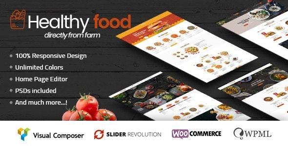 HealthyFood - Food & Organic WooCommerce Theme (RTL Supported) - WooCommerce eCommerce
