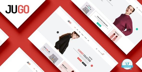 Jugo - Minimalist Fashion Responsive PrestaShop 1.7 Theme