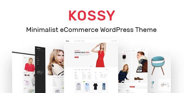 Kossy - Minimalist eCommerce WordPress Theme - WooCommerce eCommerce