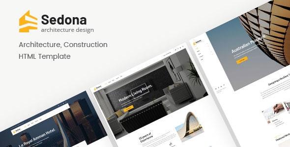 Sedona | Architecture & Construction HTML Template - Creative Site Templates