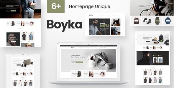 Boyka - Fashion Responsive PrestaShop Theme