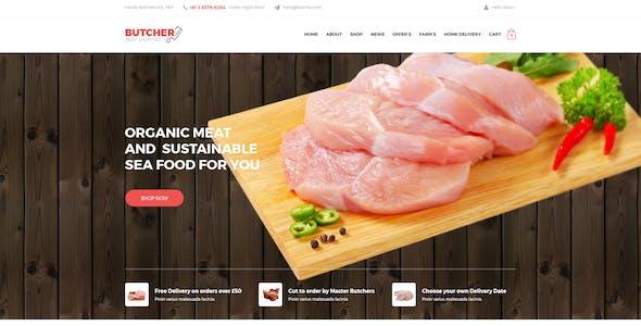 Butcher - Meat Shop eCommerce OpenCart Theme