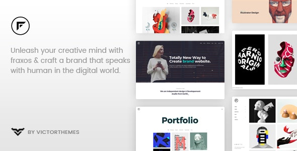 Fraxos - Creative Portfolio WordPress Theme - Portfolio Creative