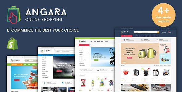 Multipurpose Shopify Theme - Angara - Shopping Shopify
