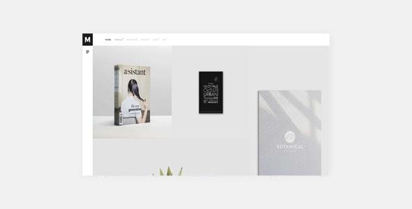 Murbani - Minimal Portfolio WordPress Theme - Portfolio Creative