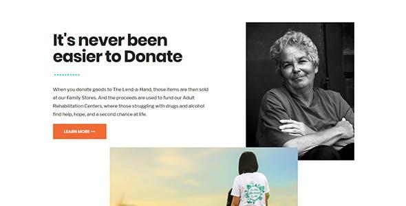 Lend a Hand - Foundation & Charity WordPress Theme
