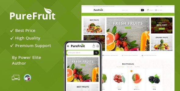 Purefruit - Responsive Prestashop 1.7 Theme - Health & Beauty PrestaShop