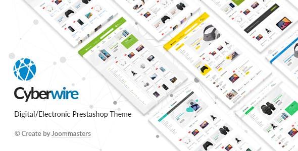 CyberWire - Premium Prestashop Theme