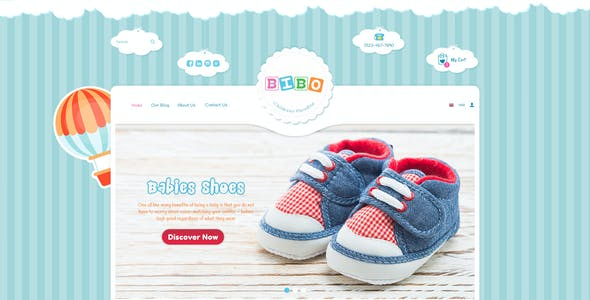 BiboMart - Baby & Kids Store Shopify Theme