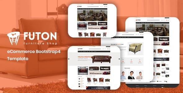 Futon - Furniture Shop eCommerce HTML Template
