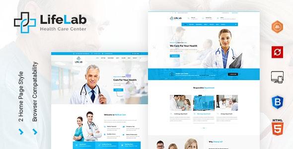 Lifelab - Medical HTML Template - Health & Beauty Retail