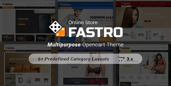 Fastro - Responsive Electronics And Multipurpose Opencart 3.x Theme - Shopping OpenCart