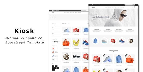 Kiosk - eCommerce Bootstrap4 Template - Shopping Retail