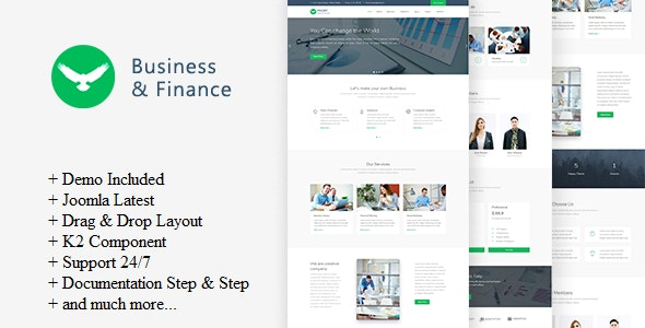 Proff - Business and Finance Joomla Template - Business Corporate