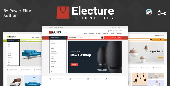 Electure - Responsive Prestashop 1.7 Theme - Shopping PrestaShop