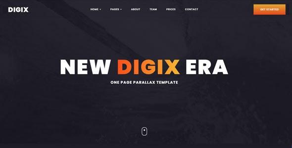 Digix - Creative HTML Template - Creative Site Templates