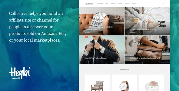 Collective: Theme to Create an Affiliate-Based Site