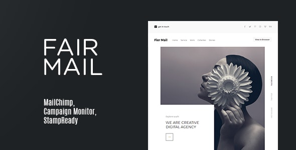 Fair Mail | Email Newsletter - Newsletters Email Templates
