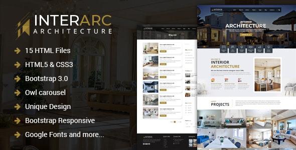 InterArc - Interior Design HTML Template - Business Corporate