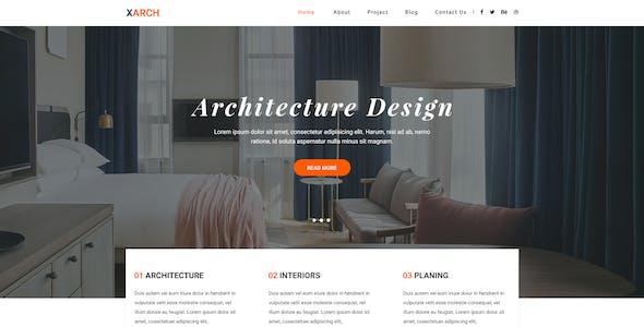 Xarch - Architecture & Interior PSD Templates
