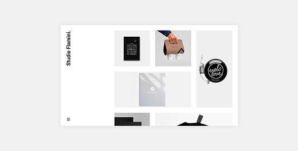 Flamini - Studio/Agency Portfolio WordPress Theme for Elementor - Portfolio Creative