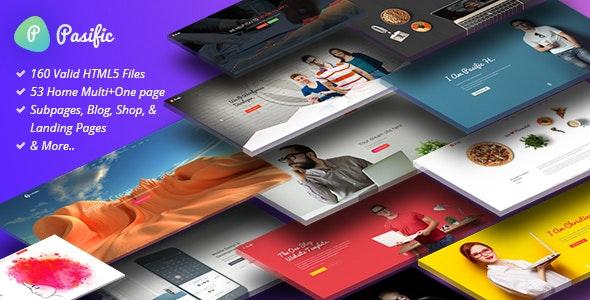 Pasific | Professional Multipurpose HTML5 Template - Corporate Site Templates