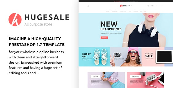 Hugesale - All Purpose Store PrestaShop Theme - PrestaShop eCommerce