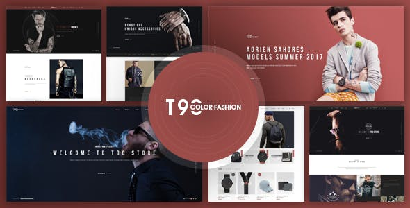T90 - Fashion Store Website Template HTML Version