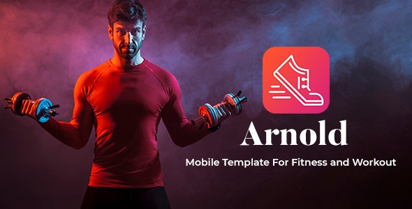 Arnold - Mobile Template For Fitness - Mobile Site Templates
