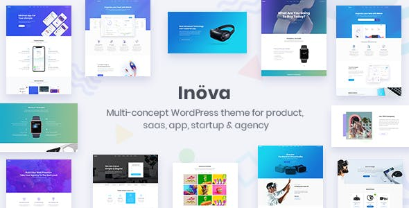 Inova - Multipurpose WordPress Theme For Startups & Agencies