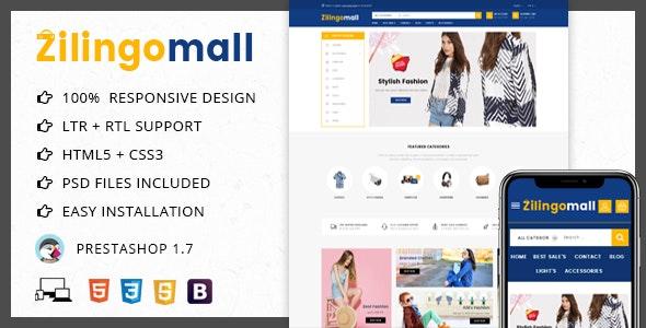 Zilingomall Mega Shop - Prestashop 1.7 Theme - PrestaShop eCommerce