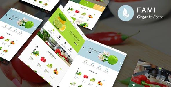 Fami - Organic Fresh Fruits Responsive PrestaShop 1.7 Theme