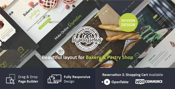 Cake & Bakery WordPress Theme - Food Retail