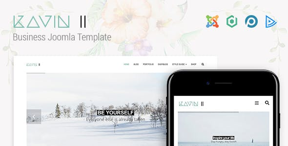 Kavin II - Business Joomla Template
