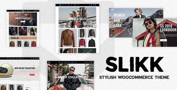 Slikk - A Stylish WooCommerce Theme - WooCommerce eCommerce