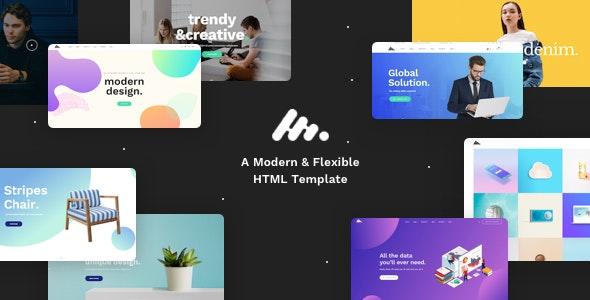 Moody - Modern & Creative Multipurpose HTML Template - Creative Site Templates